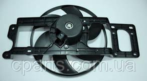Вентилятор радиатора Dacia Logan 1.4-1.6 8V без А/С фаза1 (Breckner BK54002)(среднее качество)