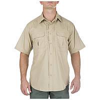 "Рубашка тактическая ""5.11 Tactical Taclite Pro Short Sleeve"" TDU Khaki, фото 1"