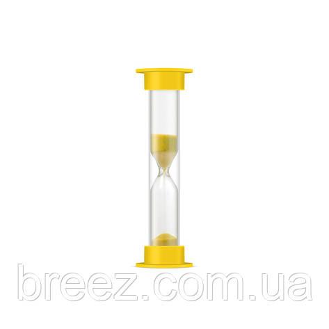 Часы песочные в ПВХ тубусе 1 мин. 5 шт. в наборе, фото 2