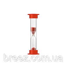 Часы песочные в ПВХ тубусе 1 мин. 5 шт. в наборе, фото 3