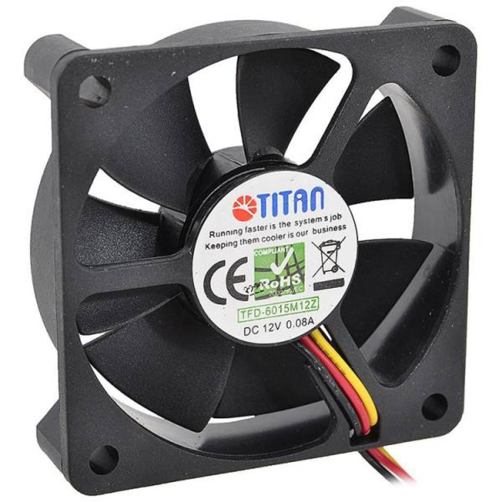 Вентилятор 60 mm Titan TFD-6015 M 12 Z, система охлаждения для пк, вен