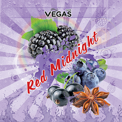 Vegas Red Midnight - 30 мл. VG/PG 75/25 1.5