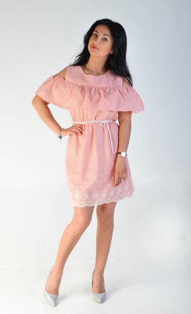 Женское платье из батиста