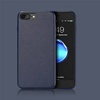Чехол для телефона iPhone 6/6s под кожу Floveme, синий