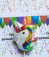 """Свеча праздничная для торта """" Единорог """""""