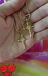 Ланцюжок з хрестиком 225 грн 45.50.60 см, фото 2