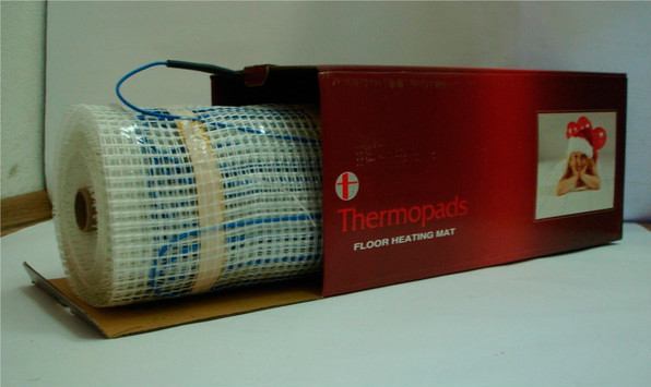 Теплый пол под плитку, Thermopads FHMT
