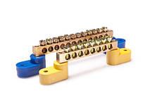 Шини нульові (нульові шини з ізолятором для кріплення на din-рейку)