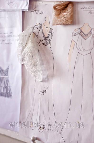 Индивидуальный пошив свадебного платья
