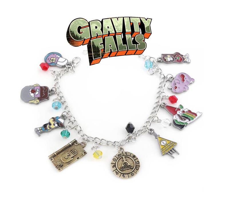 Браслет Гравити Фолз Gravity Falls с подвесками