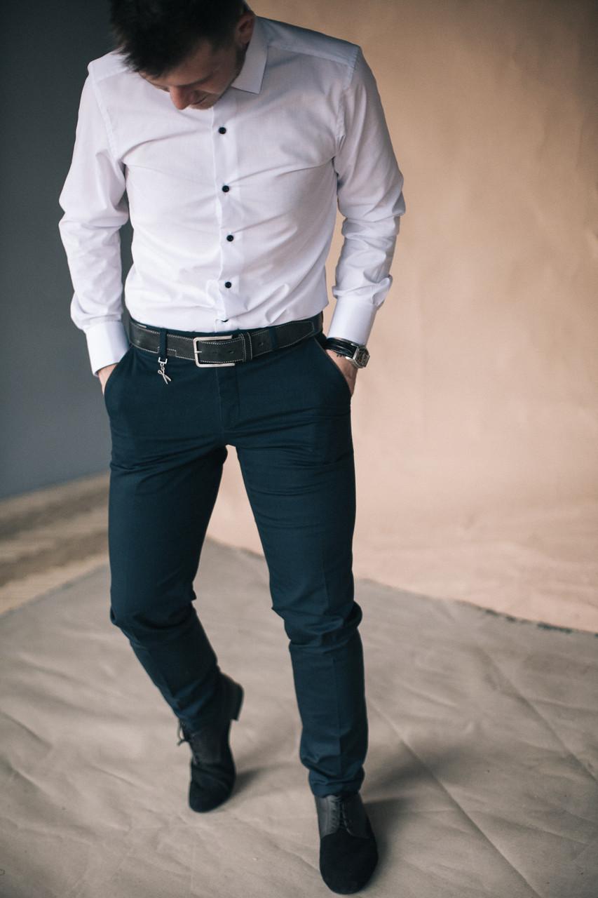 Брюки-джинсы мужские West-Fashion модель А 400 А