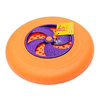 Игрушка - ФРИСБИ (цвет папайя-сливовый), фото 1