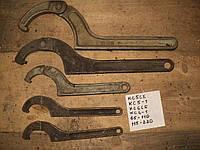 Ключи раздвижные для круглых шлицевых гаек ссср