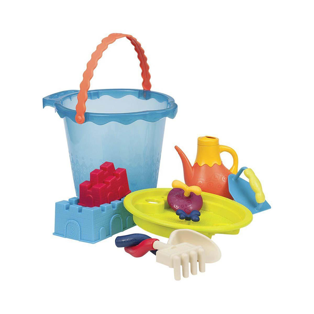 Набор для игры с песком и водой - МЕГА-ВЕДЕРЦЕ МОРЕ