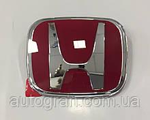 Эмблема решетки радиатора и багажника Honda Accord CRV Civic 92мм*75мм