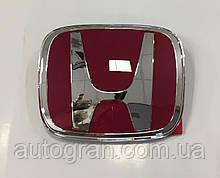 Емблема решітки радіатора і багажника Honda Accord CRV Civic 98мм*80мм