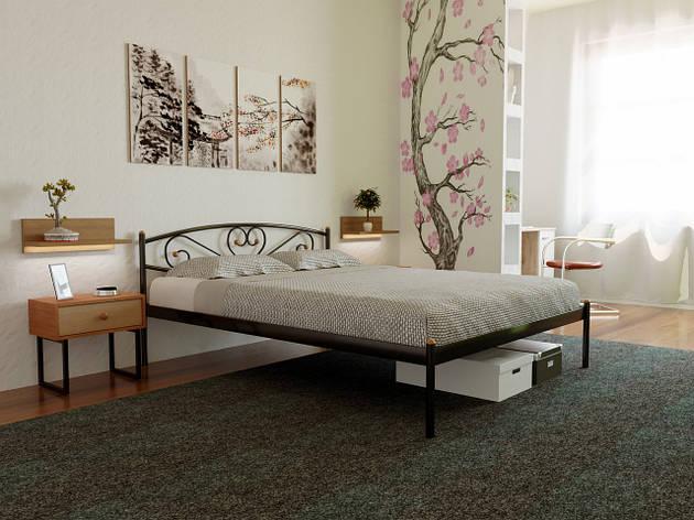 Кровать металлическая Милана-1 (Milana), фото 2