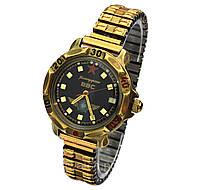 Командирские часы на браслете