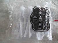 Ложка столовая  белая Юнита (100 шт)