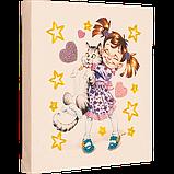 Набор для вышивки бисером Девочка с котом, фото 2