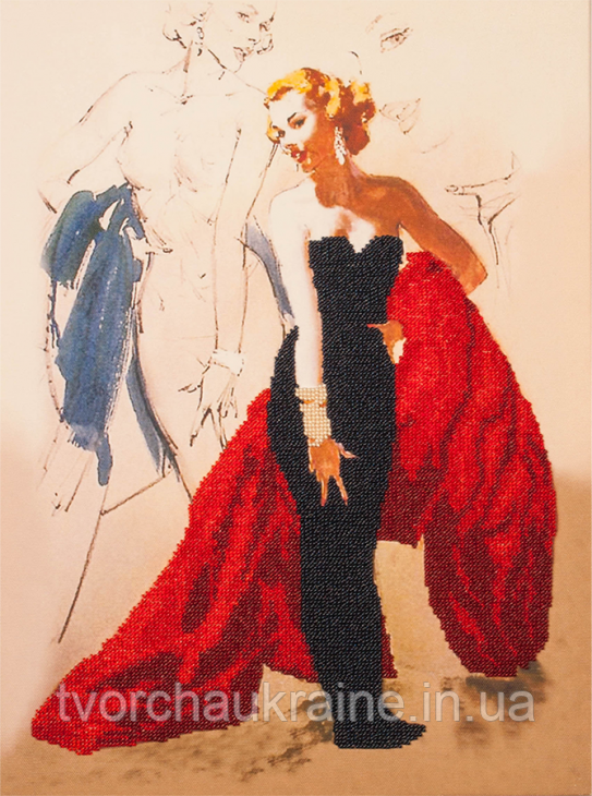 Набор для вышивки бисером Светская дама