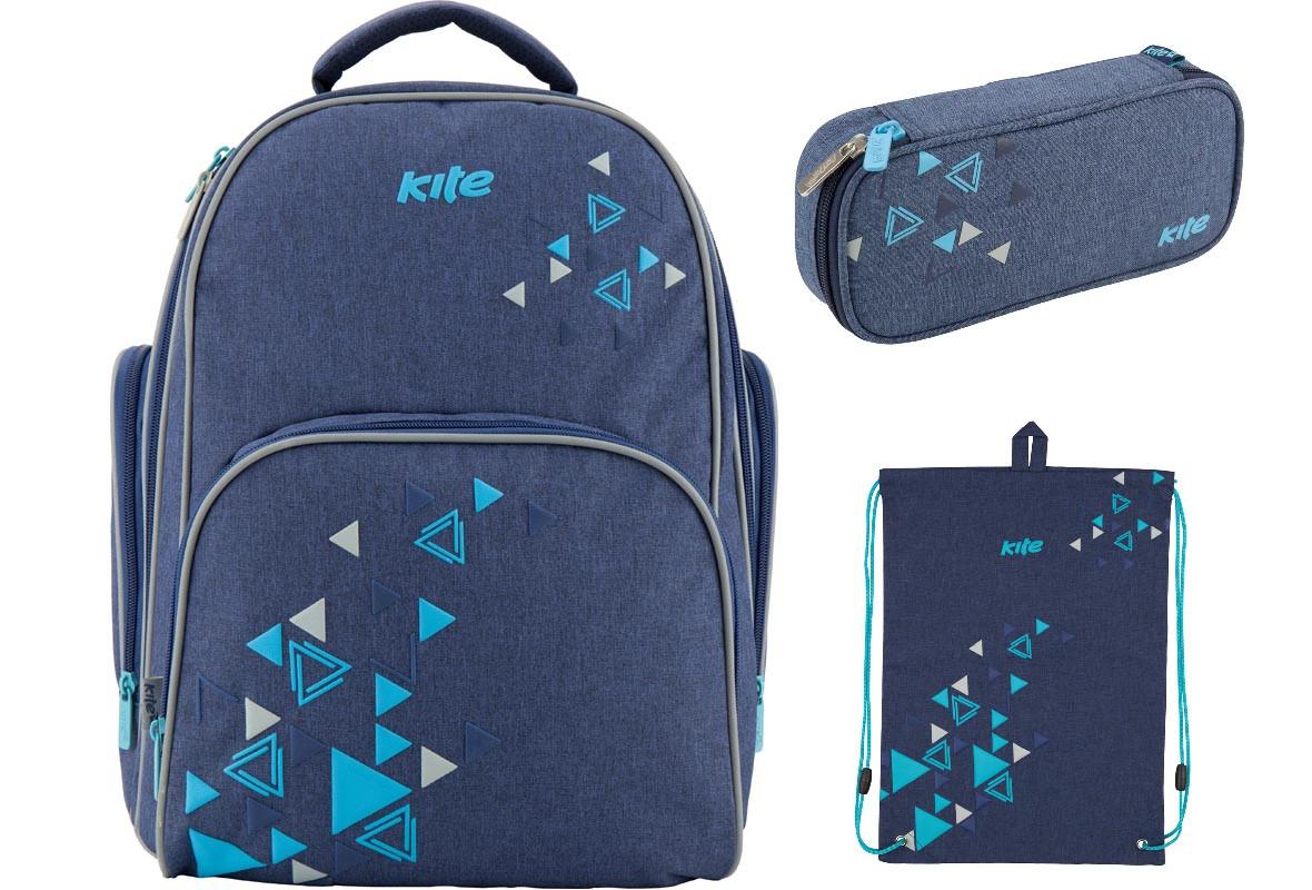 3154571b14de Набор Школьный Kite(Рюкзак+сумка+пенал) Be Bright K18-705S-2 — в ...