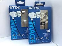 Наушники вакуумные металлические TDK