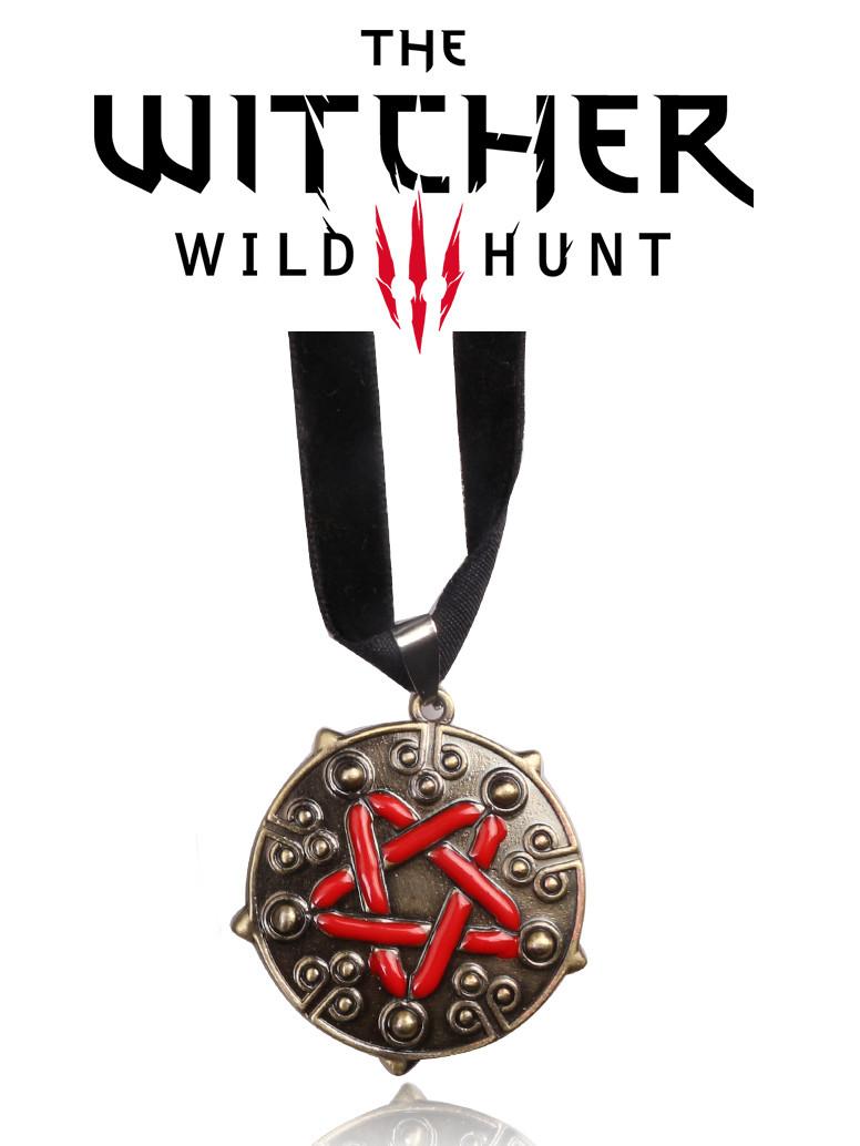Чокер медальон Йеннифер The Witcher