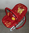 Детский шезлонг BT-BB-0001 (красный), фото 2