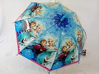 """Зонтики для девочек """"Холодное сердце"""" на карбоновых спицах № 064 от Max Komfort"""