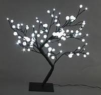 Светодиодное дерево Бонсай шарики 60 см, фото 1
