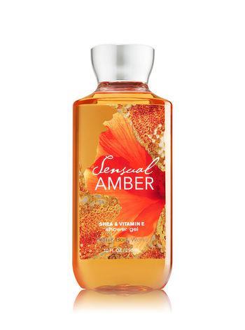 Гель для душа Bath&Body Works Sensual Amber