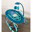 Детский шезлонг качалка Baby Tilly BT-BB-0002 (голубой), фото 2
