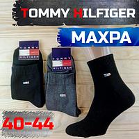 "Мужские носки махровые тёплые спорт х/б ""T H""  Турция 40-44 размер НМЗ-04297"