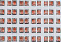 Клеммник 213  на три зажима Оптом, фото 1