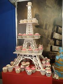 Подставка под капкейки Эйфелевая башня для Кенди бара