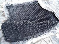 Коврик в багажник LADA Granta седан (без шумоизоляции) (Avto-gumm) пластик+резина