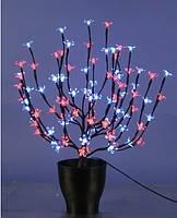 Светодиодный вазон Цветущая сакура 60 см