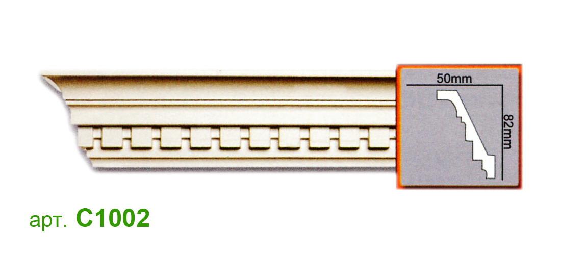Карниз Gaudi C1002 (82x50)мм