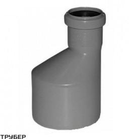 Переход 110/50 длинный для внутренней канализации  Инсталпласт