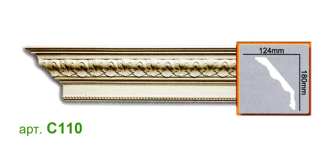 Карниз Gaudi C110 (180x124)мм