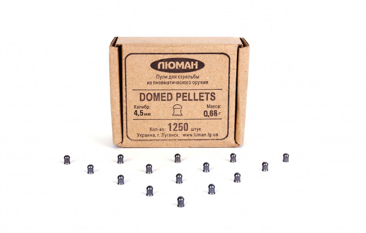 Пули Люман 0.68г Domed pellets 1250 шт/пчк