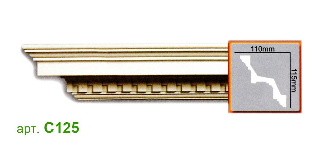 Карниз Gaudi C125 (115x110)мм