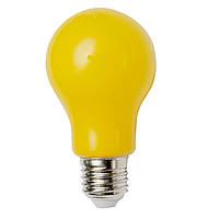 Антимоскитная желтая лампочка от комаров 8Вт E27 радиус 4м