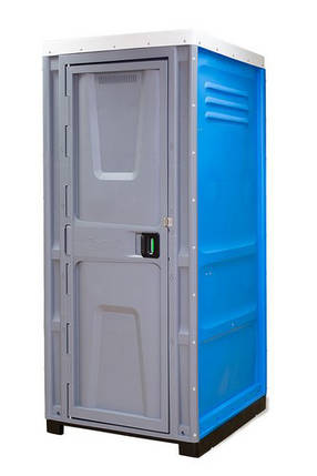 Туалетная кабина Toypek синяя, фото 2