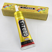 Клей-герметик Zhanlinda T 7000 черный 50 мл, для приклеивания тачскрина, дисплея