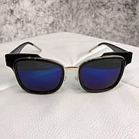 Очки солнцезащитные Dior Sunglasses Sideral 1 J6C KU Black Blue (реплика) 07dc72c567a