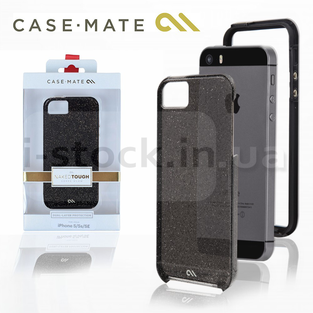 Чехол Case Mate Naked Tough, Sheer Glam для iPhone 5/5S/SE (SUPM46934)