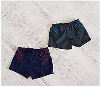 Плавки шортами подростковые спортивные, размеры 40-48 (2 цвета) Серии
