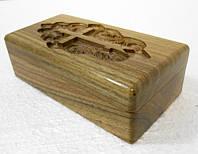 Крестильный ящик из цельного дерева (орех, дуб)